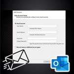 How to create IMAP email at Outlook?