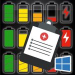 How to generate battery report with Windows